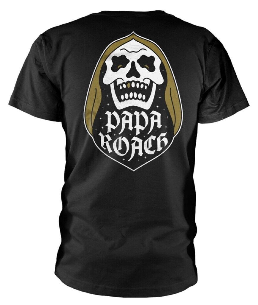 Official Papa Roach Cobra T-Shirt Rock Band F.E.A.R Jacoby Shaddix Infest