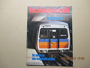 """La vie du rail N°1729 du 10 février 1980 """" Atlanta Le métro en exploitation """""""