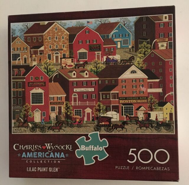 Lilac Point Glen Charles Wysocki Buffalo Games Puzzle 500pc for sale online