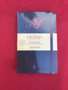 Pocket Moleskine The Hobbit Limited Edition Notebook 3.5 x 5.5 Ruled Burgundy Hard Cover
