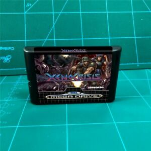 Console 16 - Xeno Crisis Xenocrisis bit MD Games Cartridge For MegaDrive Genesis