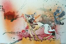 Thompson Fear and Loathing By Ralph Steadman 36x24 Poster FRAMED Hunter S