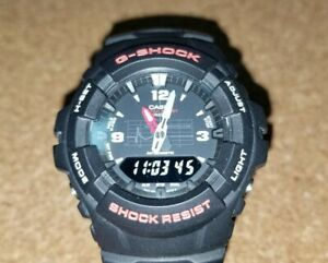 Casio-G-Shock-G100-1BV-Men-Wrist-Watch-Black