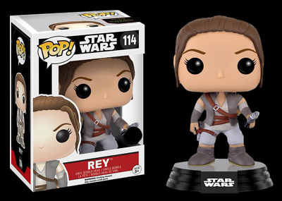 Rey Final Scene Outfit US Exclusive Episode VII Star Wars Pop Vinyl #114