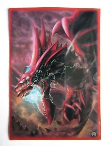 50-Yugioh-Small-Size-Card-Sleeves-Deck-Protector-Slifer-The-Sky-Dragon