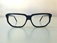 vintage ALAIN MIKLI 702 black NOS France rare glasses hand made