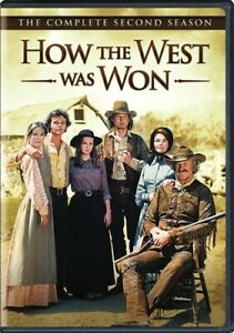 HOW THE WEST WAS WON COMPLETE SECOND SEASON 2 New 6 DVD Set James Arness