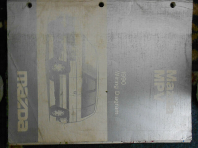 1990 Mazda Mpv Wiring Diagram Electrical Service Repair