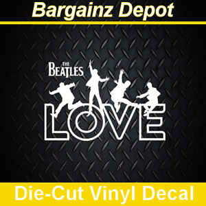 Vinyl decal the beatles love music band car - Over the garden wall soundtrack vinyl ...