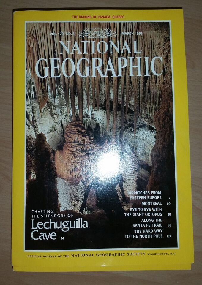 National Geographic (12 stk), Diverse, Blad
