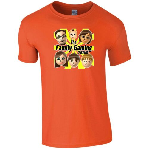 The Family Gaming Team T Shirt FGTeeV Nerd Geek Youtube Gift Kids Children Top