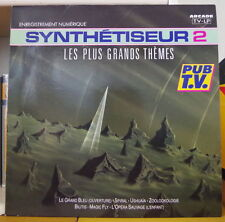 SYNTHETISEUR 2 VARIOUS COMPIL' ELECTRO SYNTH FRENCH LP ARCADE 1989