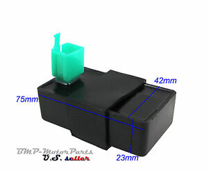 DC CDI Box 4 Pin Quad ATV Quad Dirt Bike Go Kart 50cc 60cc 70cc 90cc 110cc 125cc