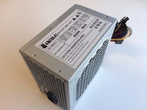 20+4Pin /& SATA 120mm-Fan Brand NEW--Hercules 600w-MAX ATX Power Supply