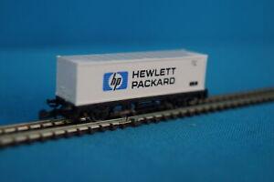 Marklin-8618-DB-Container-Car-HEWLETT-PACKERD-Mini-Club