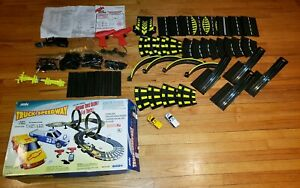 Artin Slot Car Race Set Truck Speedway Lap Counter Loops Chevrolet S-10 Chevy