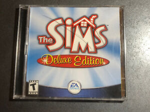 The Sims Deluxe Edition PC Game w/ CD KEY - EA Games 2002 ~ Clean Discs!