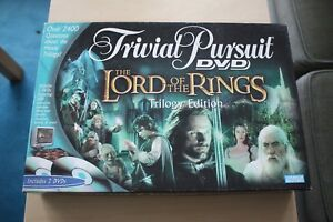 Lord of The Rings Trivial Pursuit Trilogy Edition DVD Board Game - Southend-on-Sea, United Kingdom - Lord of The Rings Trivial Pursuit Trilogy Edition DVD Board Game - Southend-on-Sea, United Kingdom