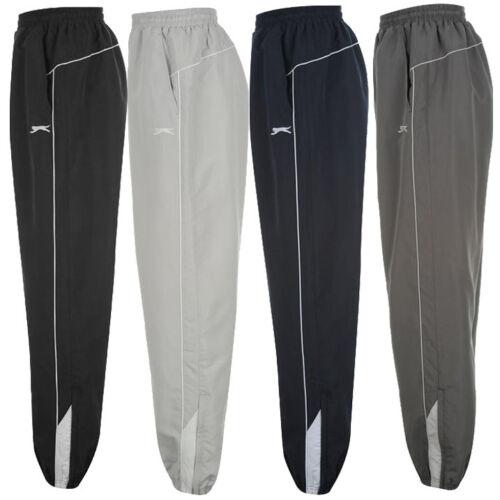 Slazenger Pantaloni Allenamento S M L XL 2xl 3xl 4xl ch Sport Jogging Pantaloni Pantaloni Pantaloni Nuovo