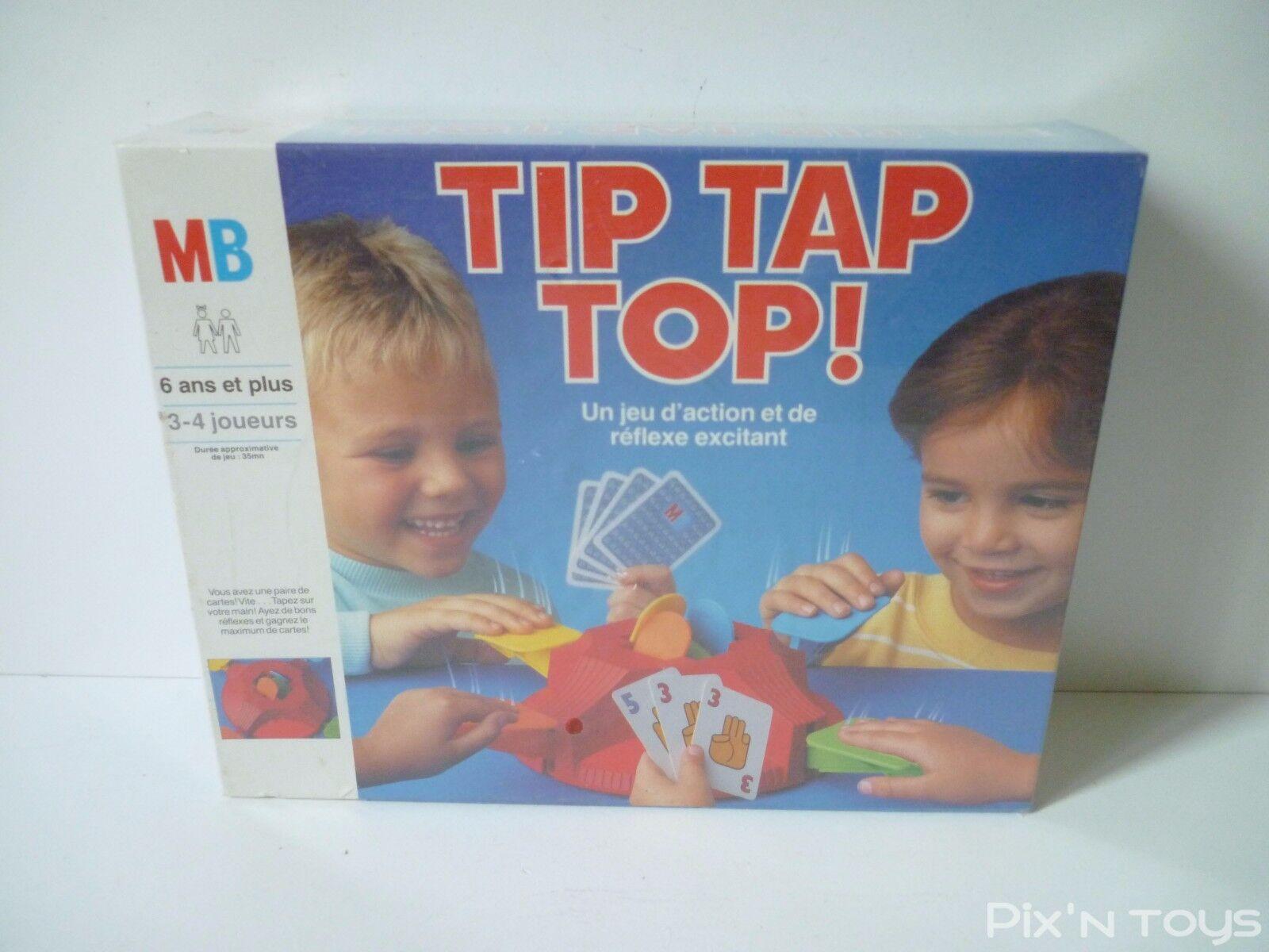 Jeu de société TIP TAP TOP   MB 1988 [ Neuf ]