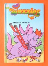 WUZZLES ELEROO TO THE RESCUE HB BOOK 1986 LITTLE OWL SUPERSTARS
