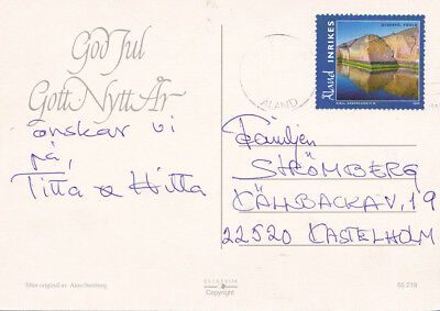 316 Auf Inlands-postkarte Aus Mariehamn Von 2009 Auf Dem Internationalen Markt Hohes Ansehen GenießEn