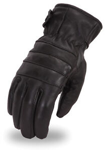First-MFG-First-Classics-Men-039-s-Insulated-Leather-Touring-Gloves-FI174GL