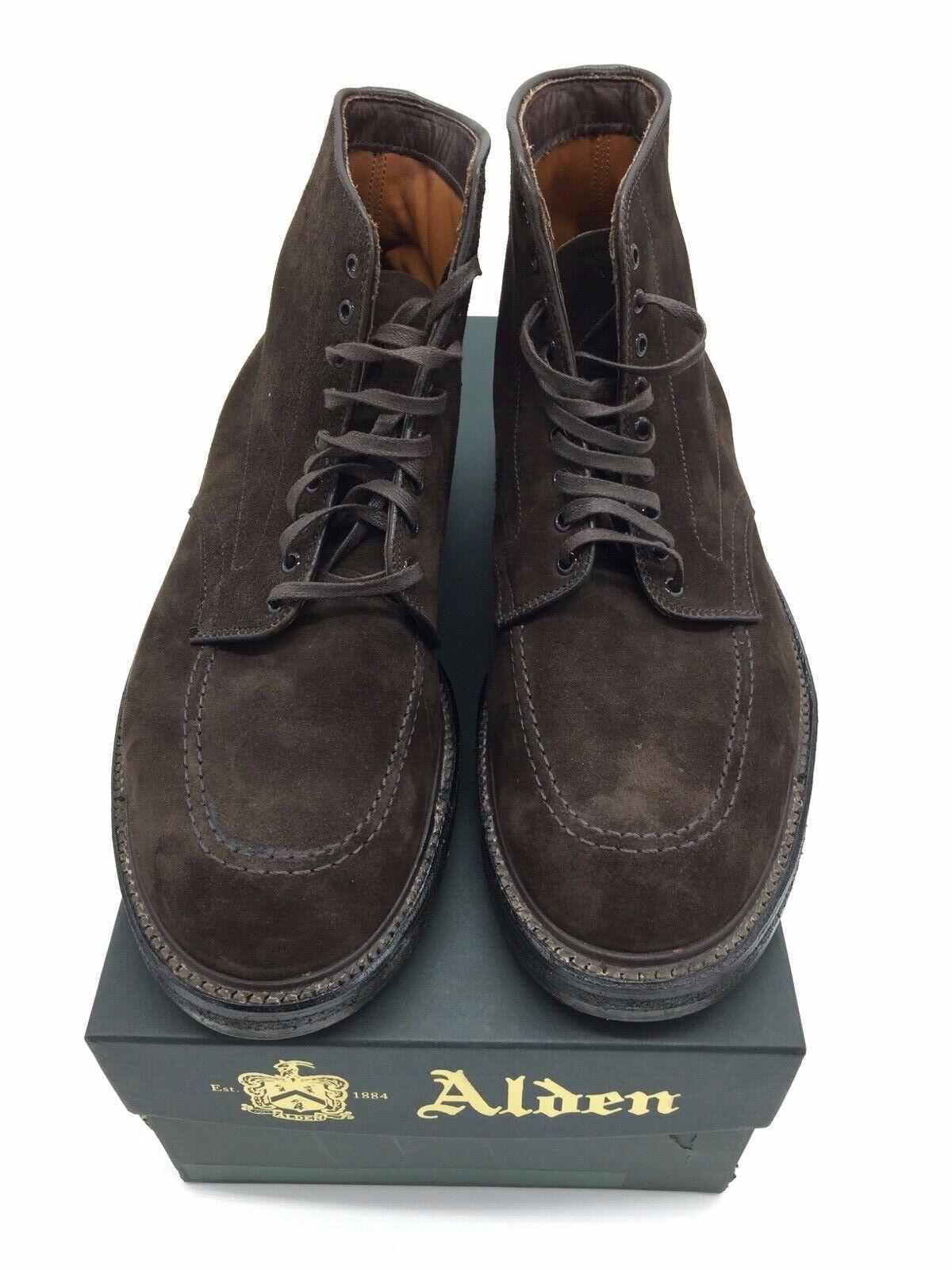 ALDEN chaussures WORK bottes 40558 SUEDE