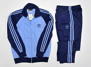 Adidas White Tracksuit Top Retro Old skool style Jacket Size