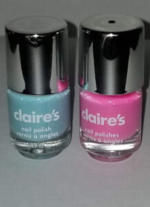40 Claire S Nail Polish 5ml Baby Shower Party Favors Pink And Blue