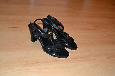 MEXX Sandalen Pumps Schuhe Gr.38 schwarz WIE NEU