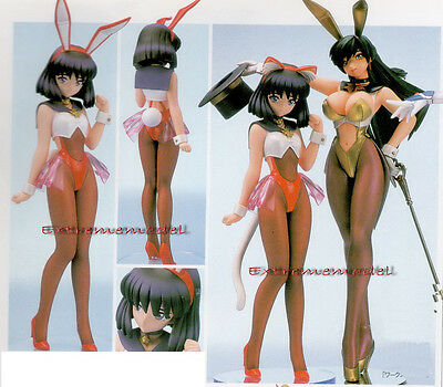 1/6 Sailor Pluto & Sailor Saturn In Bunny Set (sailor Moon) Unpainted Resin Kit Moderate Price