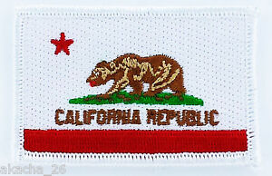 Patch Ecusson Drapeau AMERICAIN CALIFORNIE USA yu2XzXDI-09093343-370840577