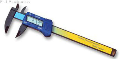 """carb//fibre 150mm//6 /"""" 48-500-150 digicaliper Duratool"""