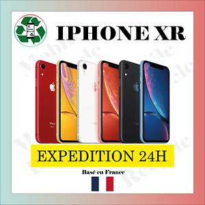 Apple iPhone XR 64 GO NOIR / ROUGE/ BLANC / BLEU // BON ETAT // VENDEUR PRO FR