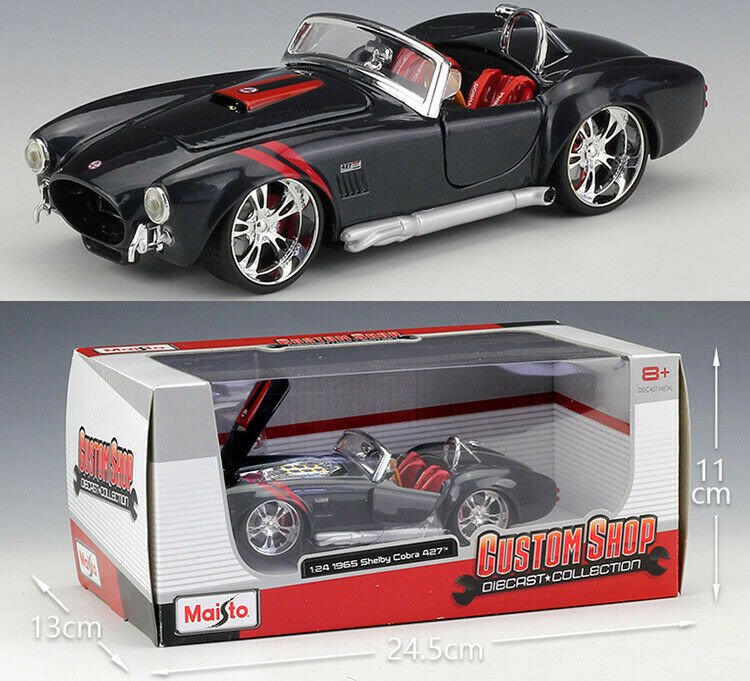 MAISTO 1 24 Ford 1965 Shelby Cobra 427 Alloy Diecast Vehicle Car MODEL TOY GIFT