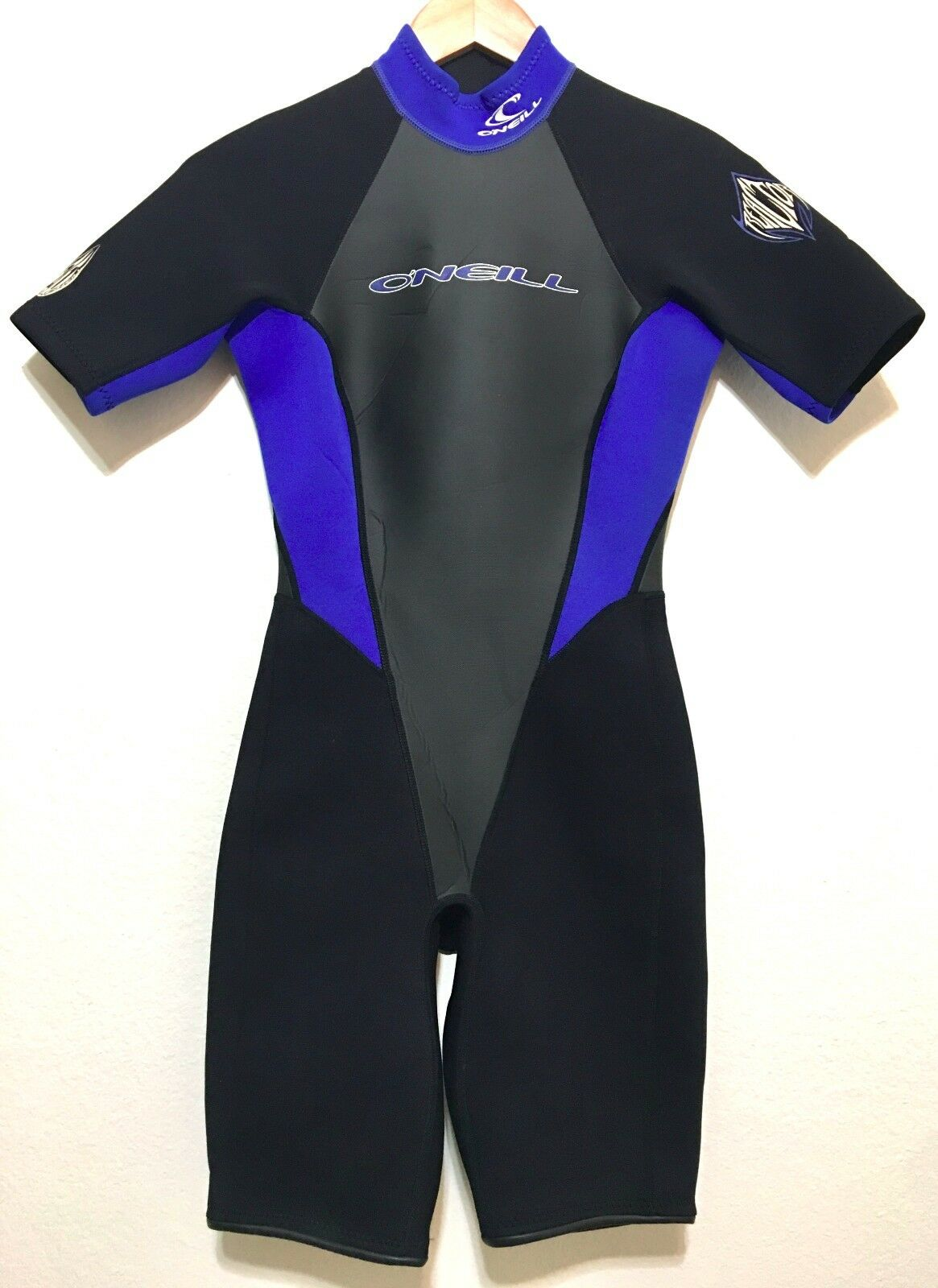 O'Neill Womens Spring Shorty Wetsuit Size 8 Reactor 2 1