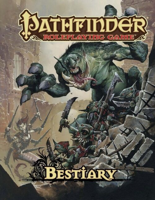 Pathfinder Roleplaying Game  Bestiary 1 RPG D&D 3rd Printing
