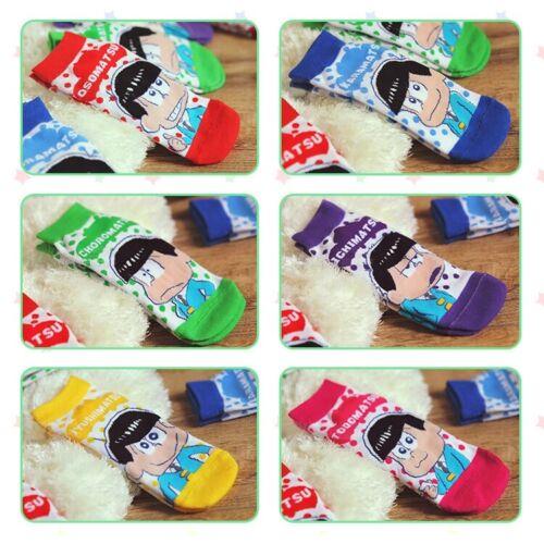 Cute SIX SAME FACES Konya wa Saikou Mr.Osomatsu San ED Socks Cos Gifts Socks