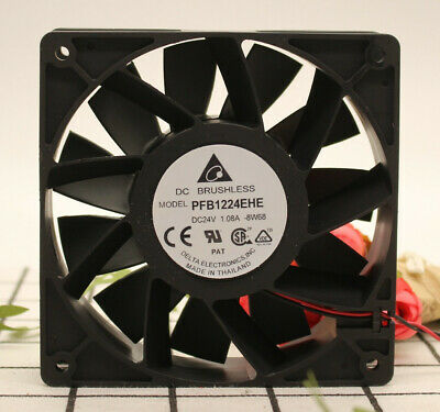 New original AFB1224VHE 24V 0.57A 12038 12CM two-wire inverter fan