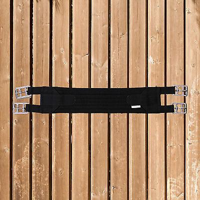 schwarz 65cm Textil FWF  Kurzgurt 3 Schnallensystem