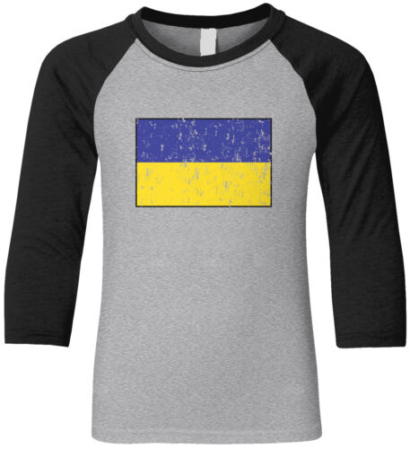 Details about  /Ukraine Country Pride Game Day Soccer The Main Team Football  Youth Raglan Shirt