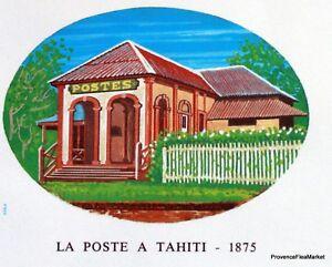 Copieux Yt 322 La Poste En 1875 Tahiti PolynÉsie FranÇaise Fdc 1° Jour
