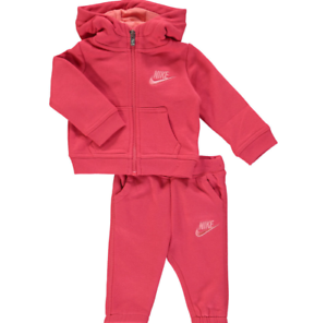 Nike Infant Full Zip Tracksuit Children Baby Hooded Jogging Suit Trouser Jacket