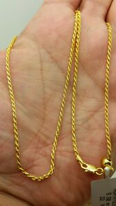 """925 Sterling Silver Solid Diamond Cut Singapore Adjustable Chain Necklace 22/"""""""