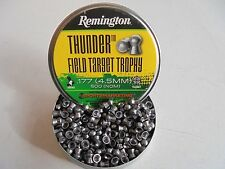 remington thunder field target trophy  4.5mm / .177 pellets x 500.