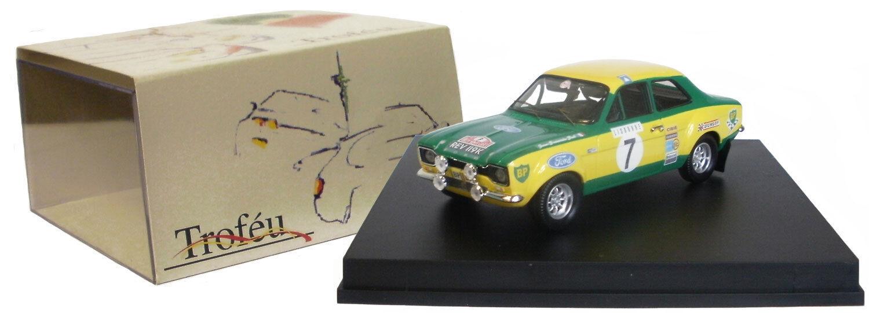 Trofeu 524 ford escort mk i rs 1600 monte carlo 1972 piot échelle 1 43