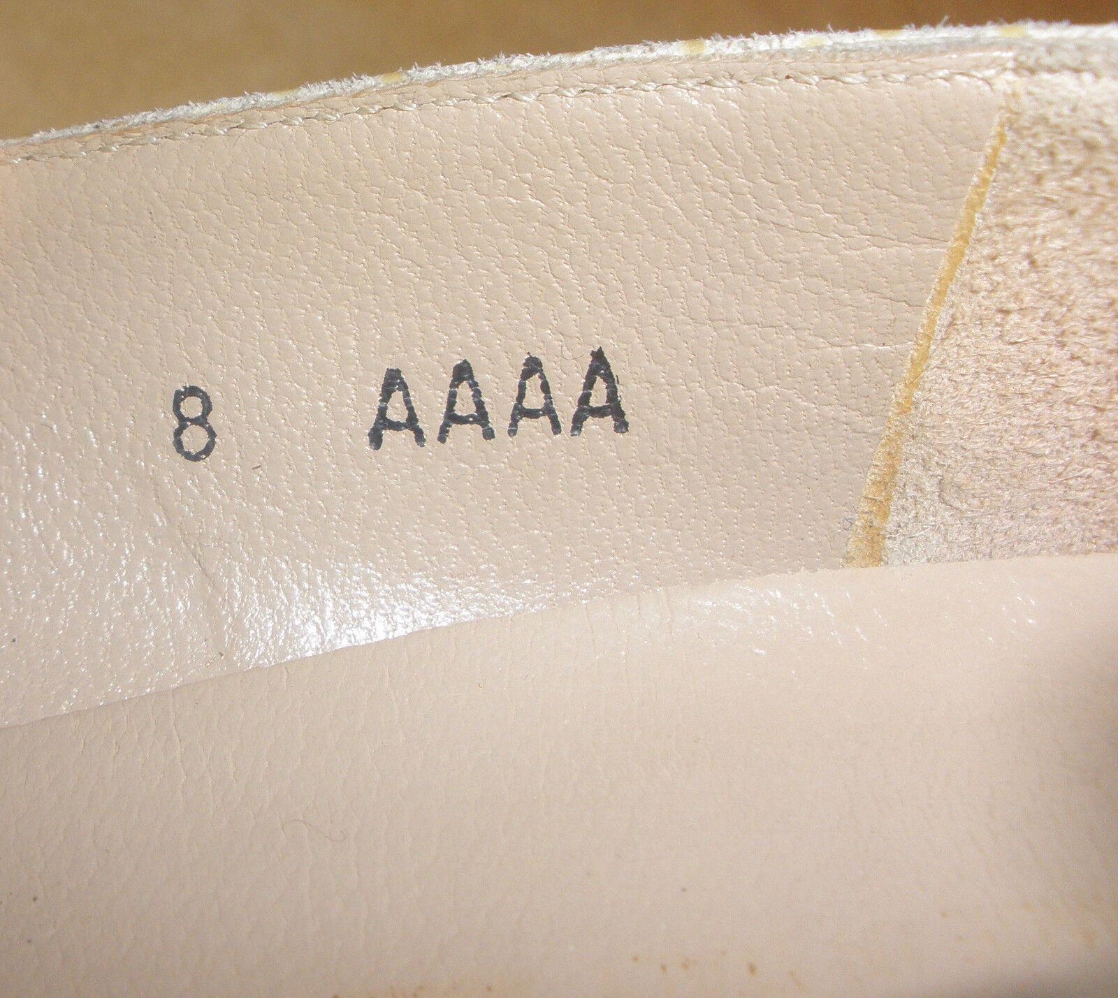 Light Beige Beige Beige Texturot Pump schuhe w  Accent Toes by Salvatore Ferragamo Größe 8AAAA 3ee191