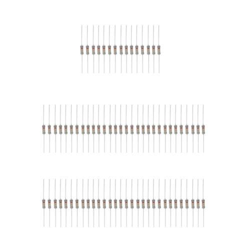 Lot de 300pcs Résistances De Film Carbone Valeurs Ohmique