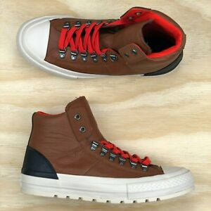 Converse Chuck Taylor All Star Street Hiker High Top Brown White ... e88fc1317